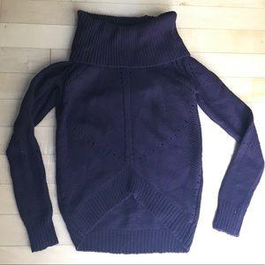 LOFT purple sweater